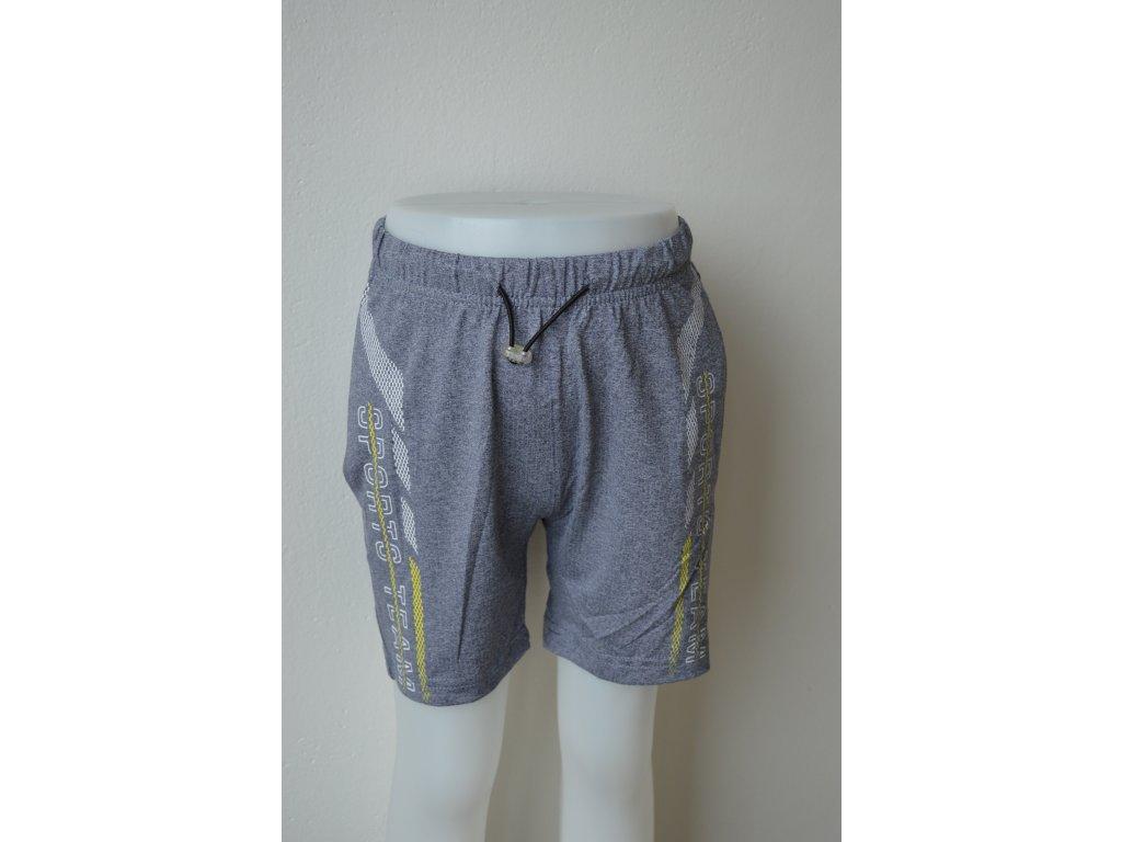Chlapecké šortky Kugo LS 5912 šedé