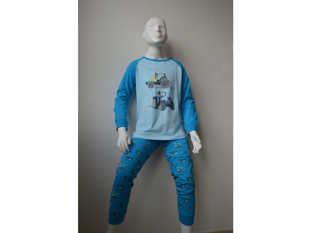 Chlapecké tenké pyžamo Wolf S 2155 B - modré