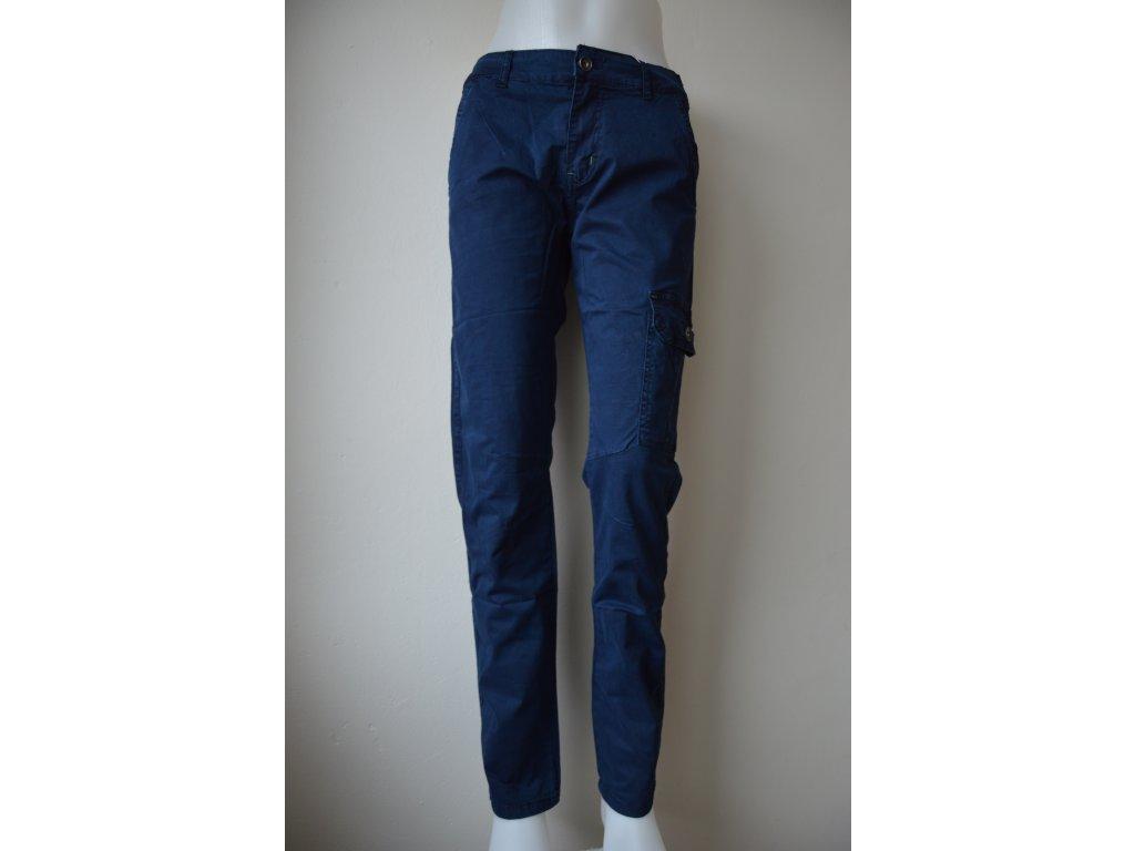 Chlapecké plátěné kalhoty Kugo TK 837 - modré