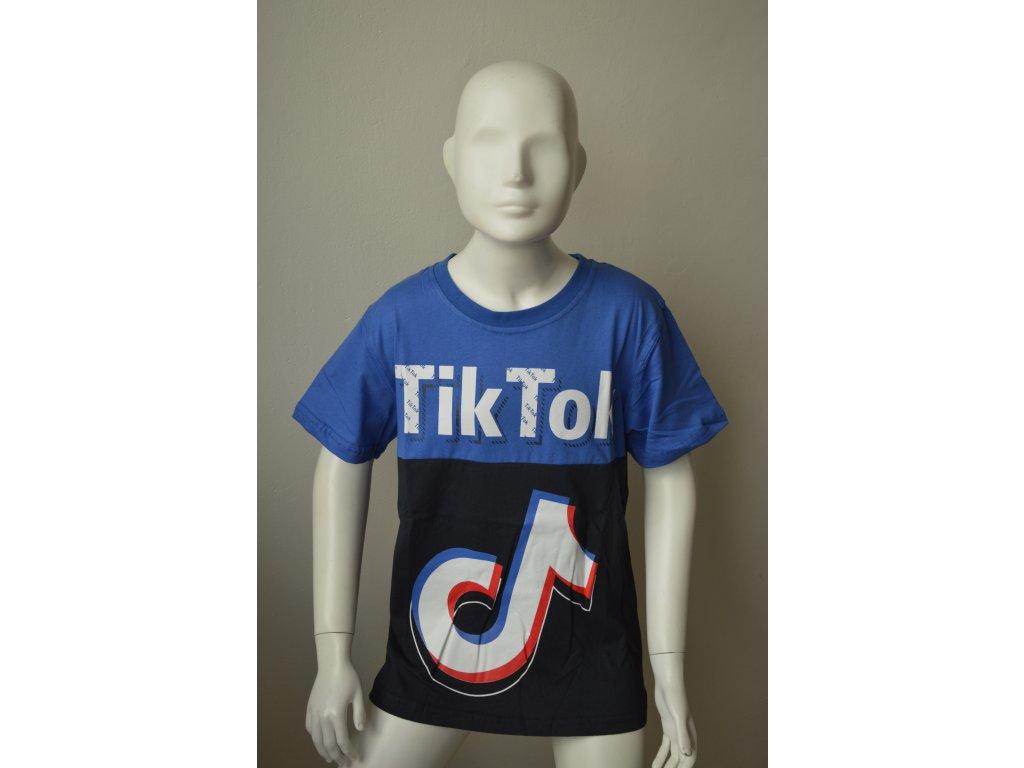 Chlapecké triko Kugo LC 5967 - modré