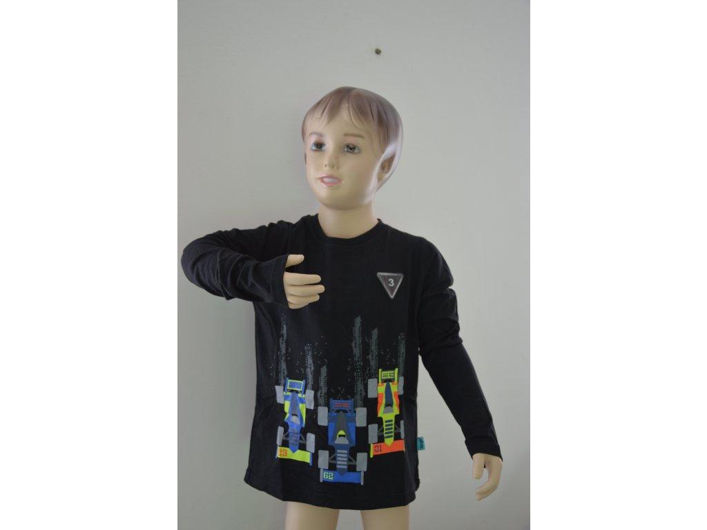 Chlapecké triko Kugo M 0210 - černé