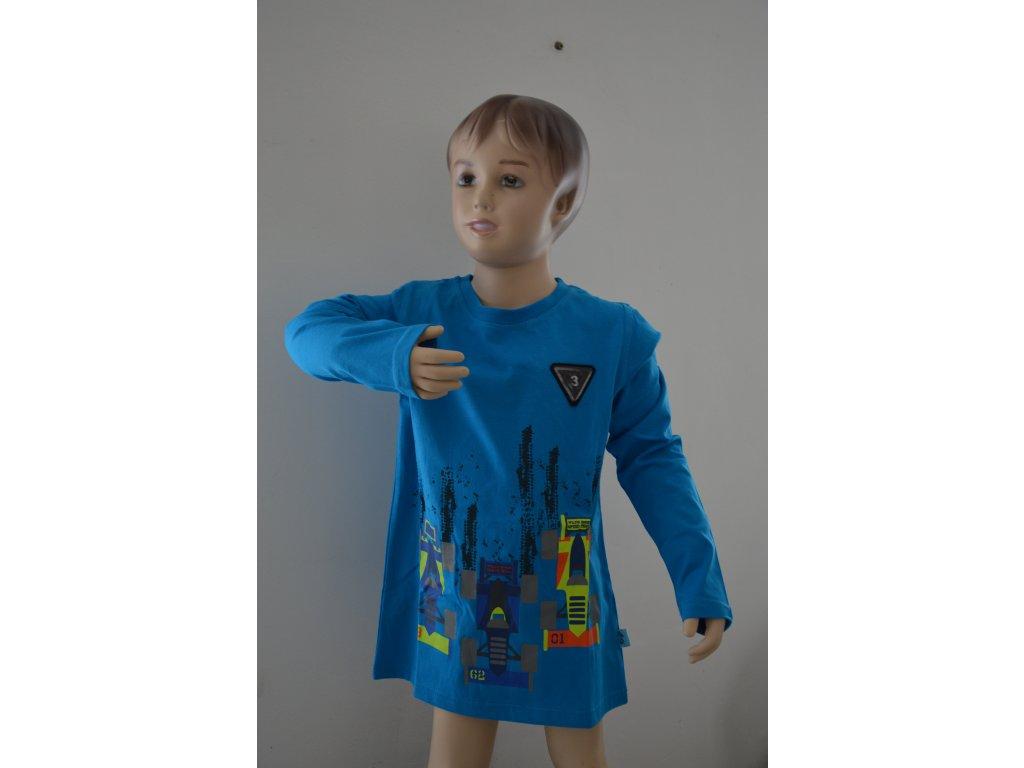 Chlapecké triko Kugo M 0210 - modré