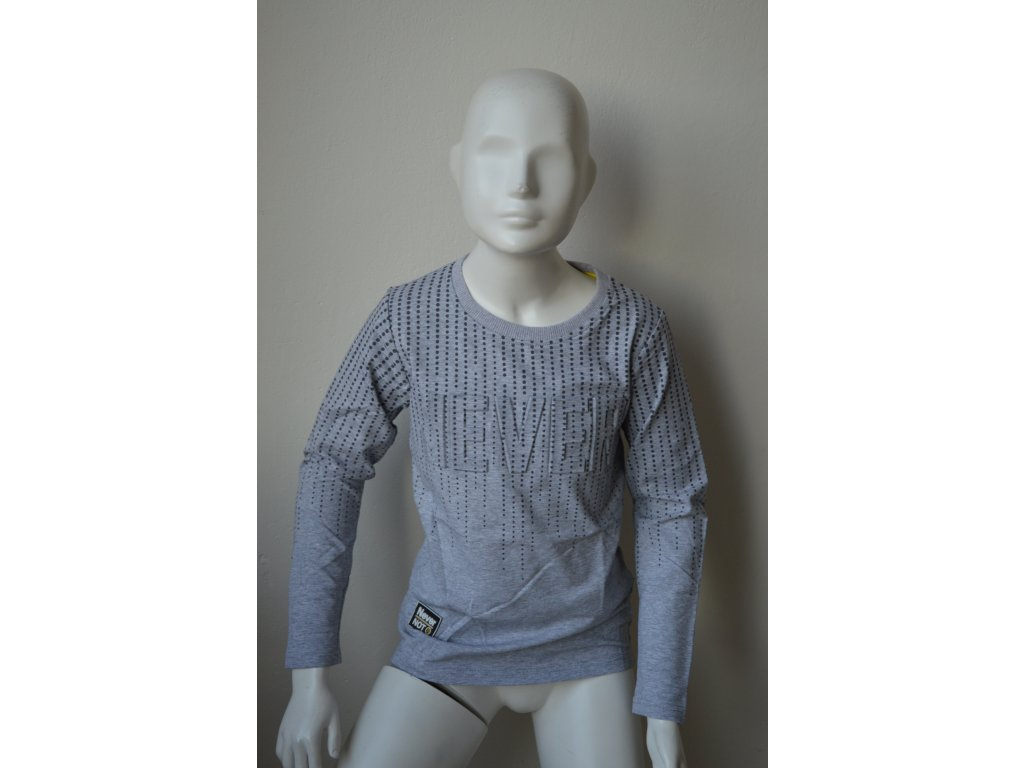 Chlapecké triko Kugo M 0218 - šedé