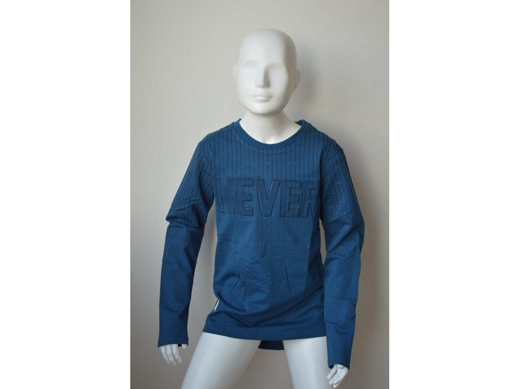 Chlapecké triko Kugo M 0218 - tmavě modré