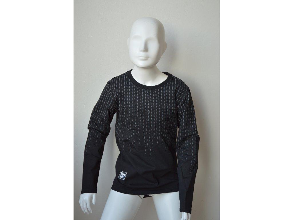 Chlapecké triko Kugo M 0218 - černé