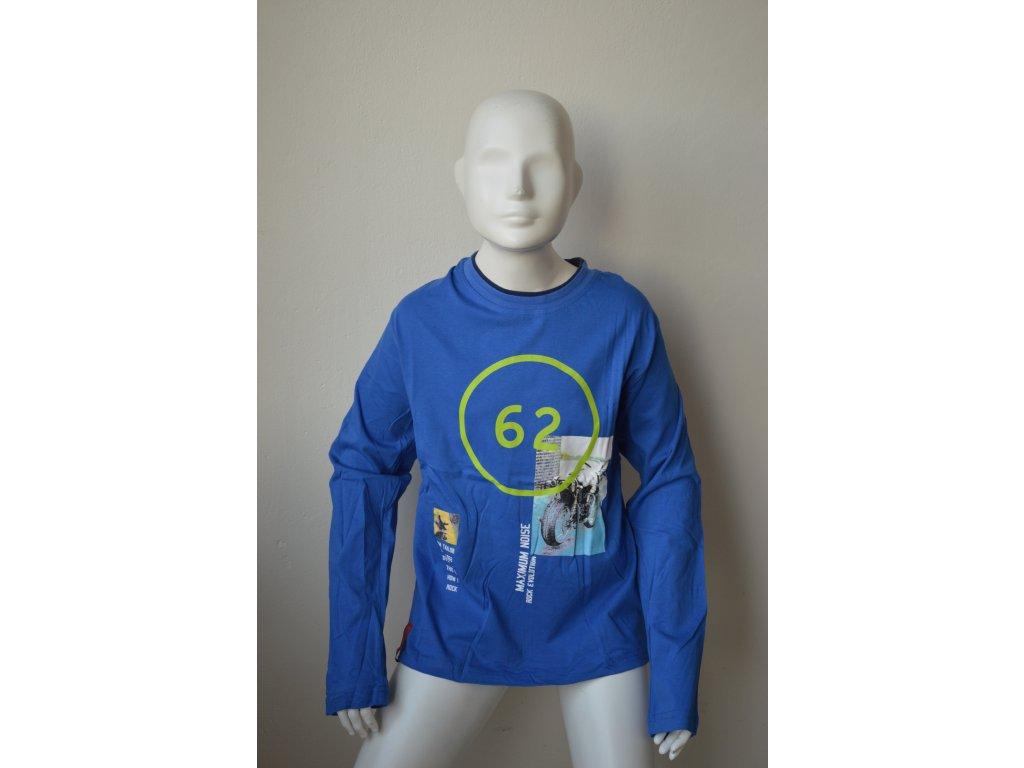 Chlapecké triko Kugo M 8808 - modré