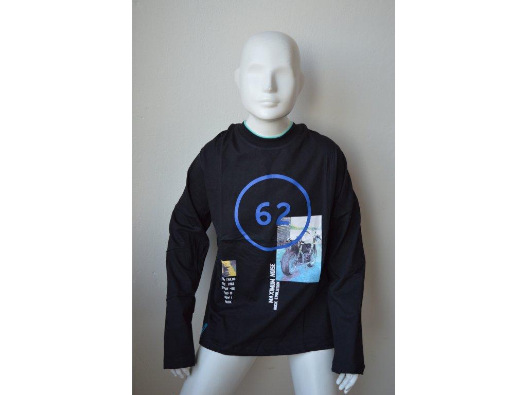 Chlapecké triko Kugo M 8808 - černé