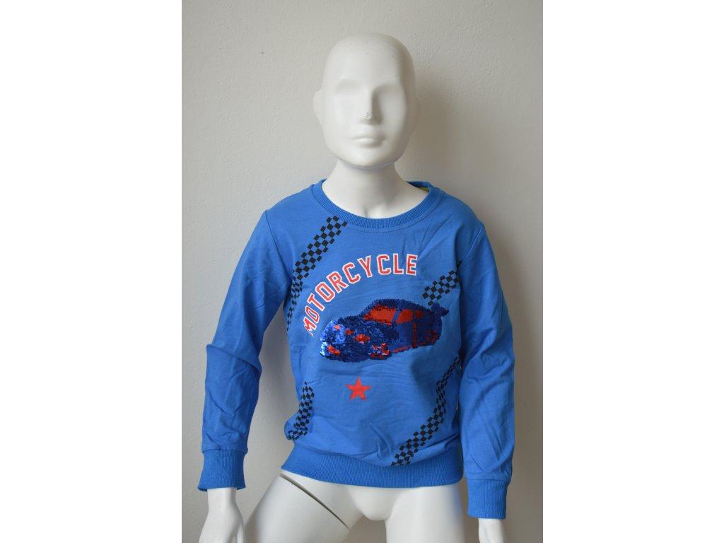 Chlapecké triko Kugo M 0215 - modré