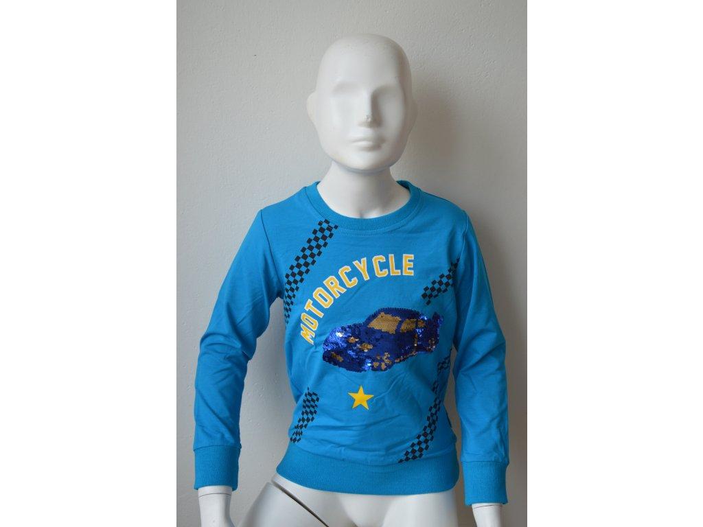 Chlapecké triko Kugo M 0215 - světle modré