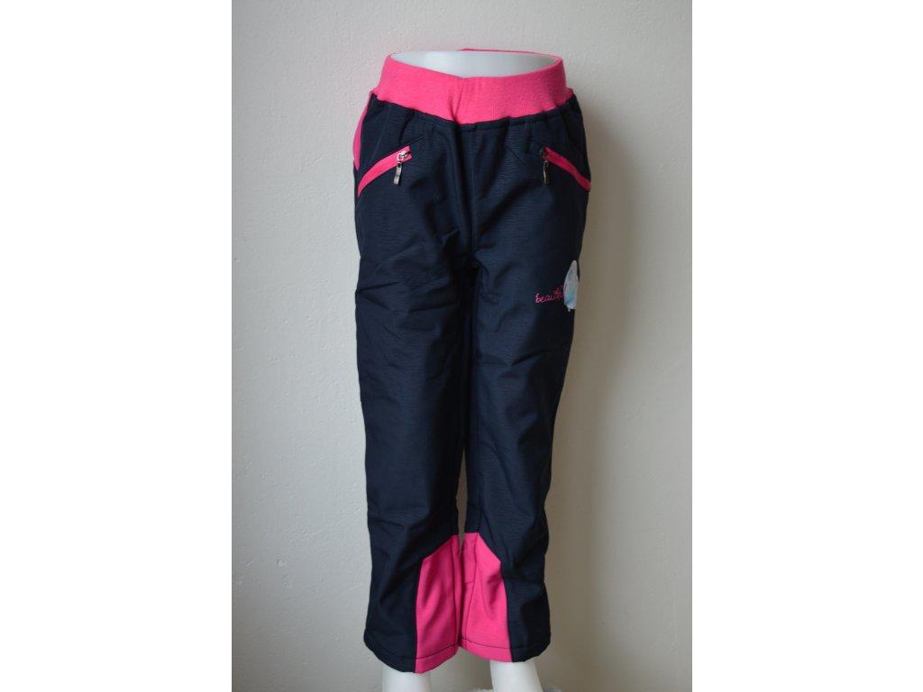 Dívčí teplé softshellové kalhoty Wolf B 2192