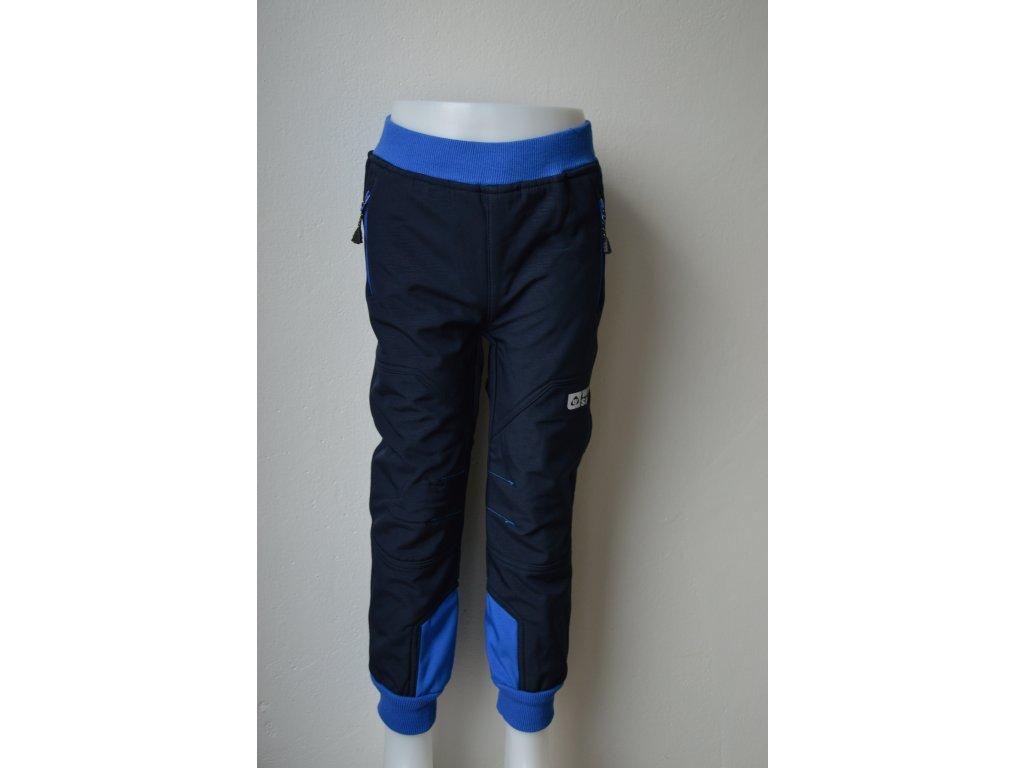 Dětské softshellové zateplené kalhoty Wolf  B 2193- modré