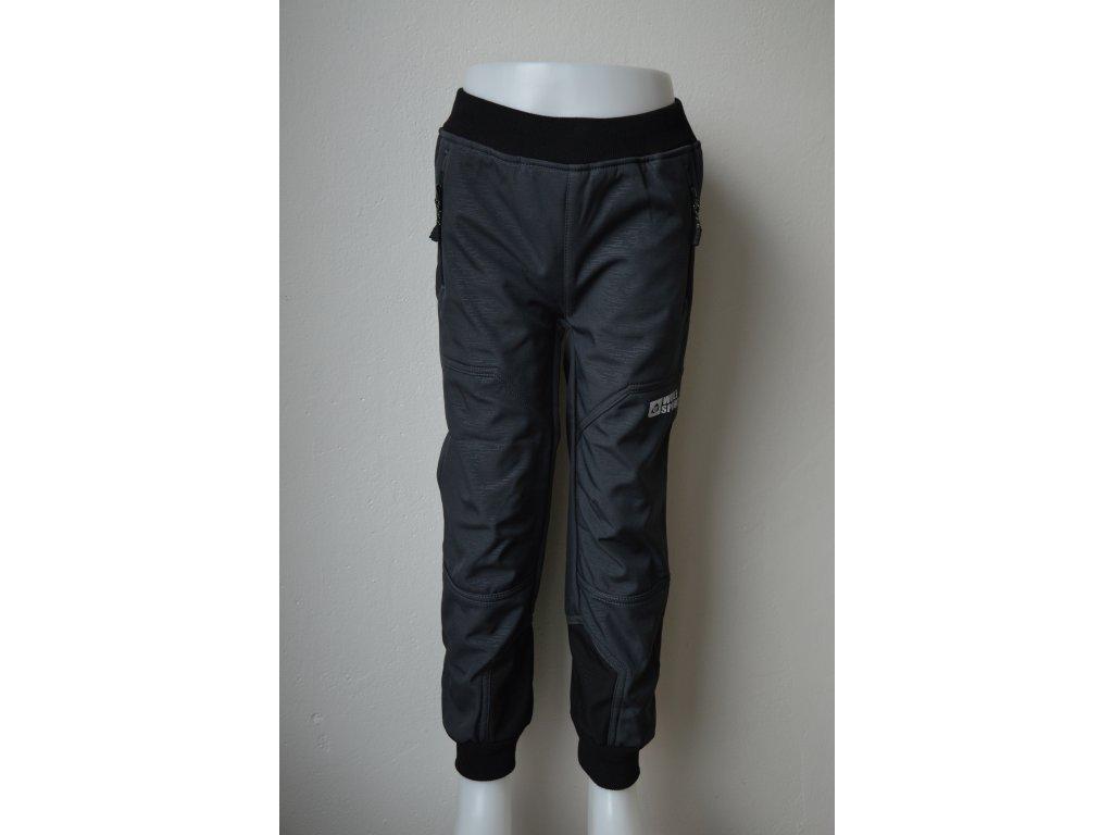 Dětské softshellové zateplené kalhoty Wolf  B 2193 - šedé