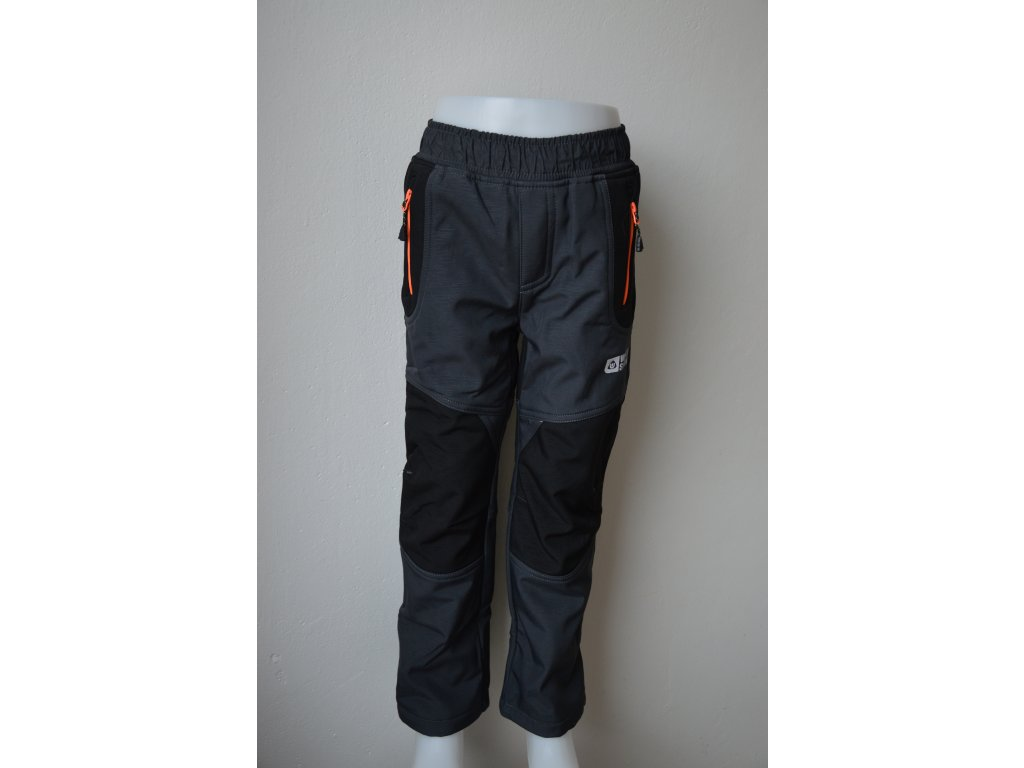 Chlapecké teplé softshellové kalhoty Wolf B 2194