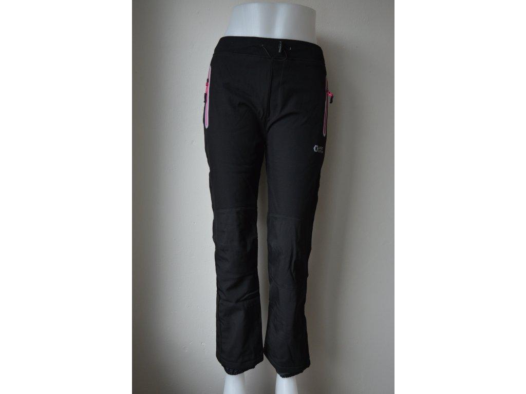 Dorostenecké teplé softshellové kalhoty Kugo HK 1672 - růžové