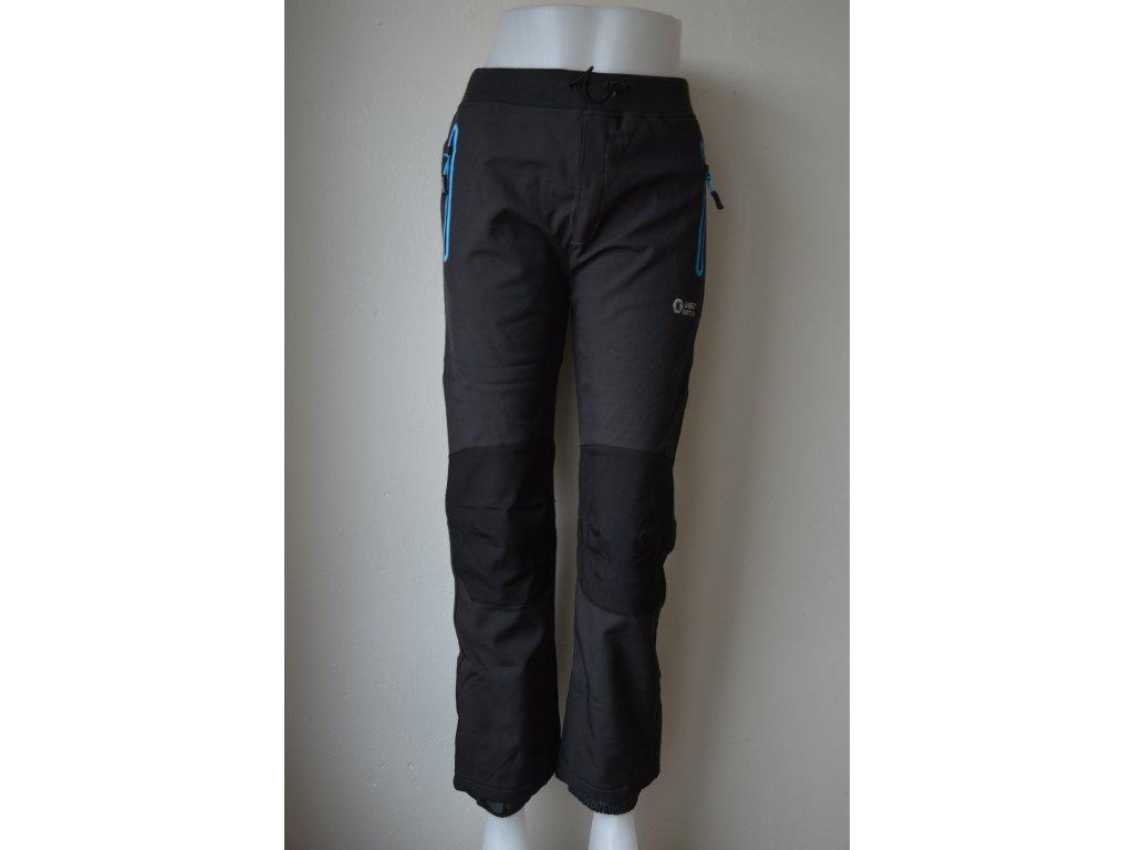 Dorostenecké teplé softshellové kalhoty Kugo HK 1672 - modré