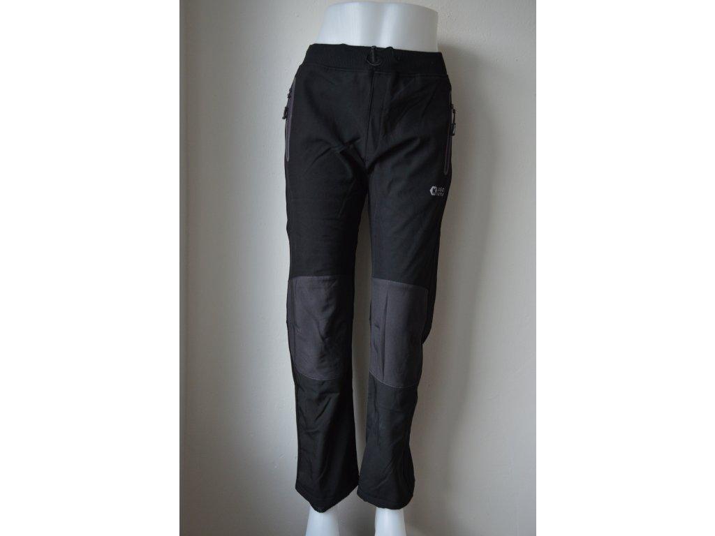 Dorostenecké teplé softshellové kalhoty Kugo HK 1672 - šedé