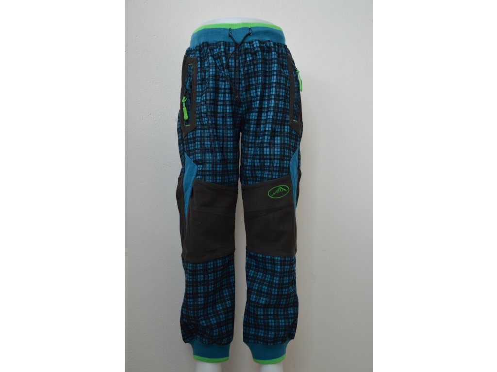 Chlapecké outdoorové kalhoty Kugo - tyrkysové