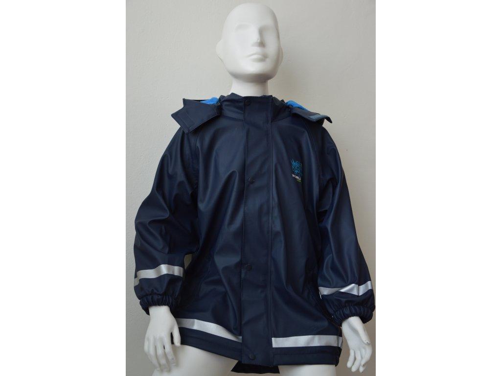 Chlapecká nepromokavá bunda Kugo - tmavě modrá