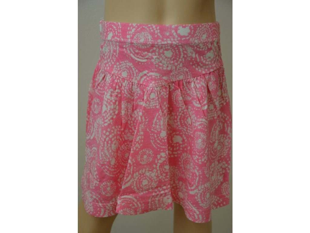 Letní sukně Wolf - růžová