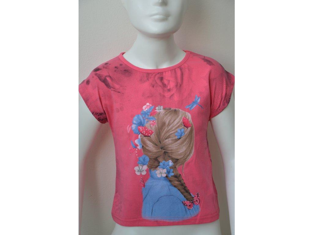 Dívčí tričko Kugo - růžové