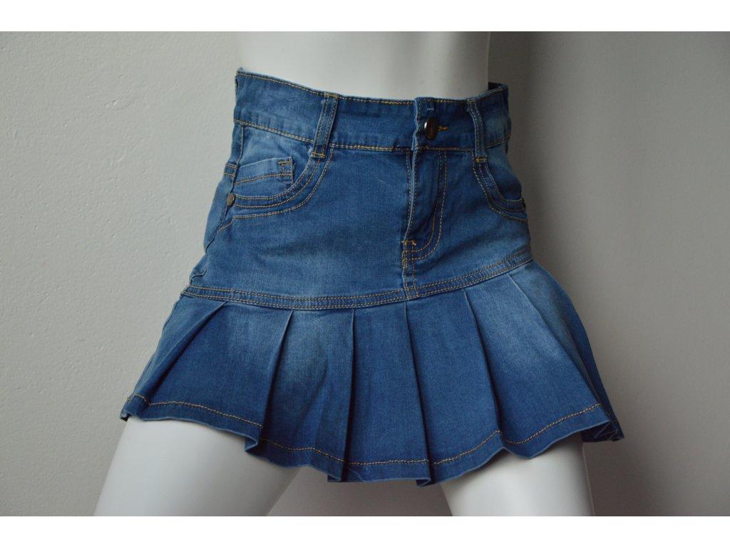 Dívčí riflová sukně KuGo
