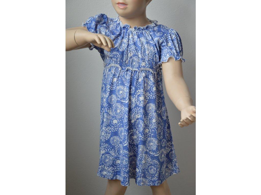 Dívčí letní šaty zn. Wolf - modré
