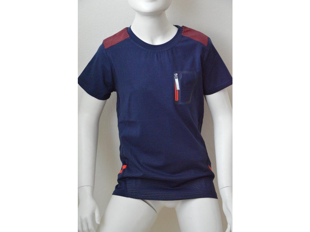 Chlapecké triko Kugo modré