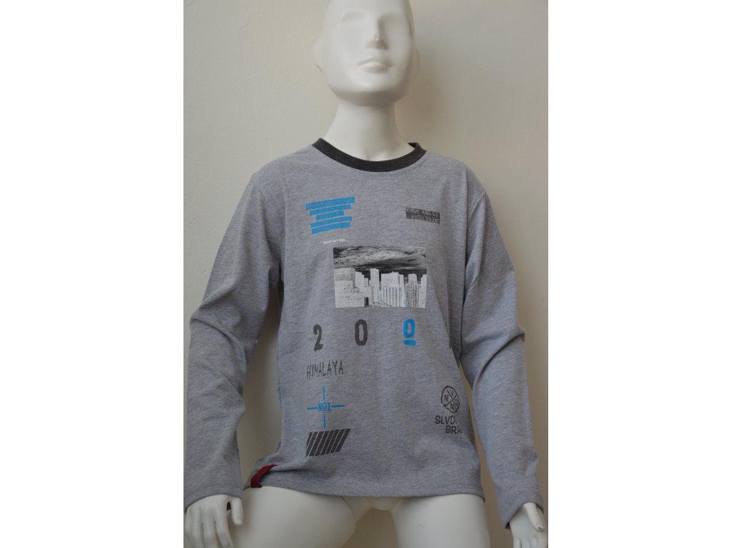 Chlapecké triko Kugo - světle šedé