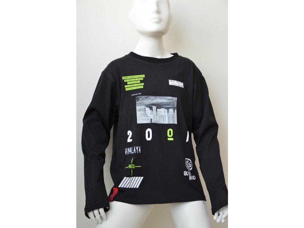 Chlapecké triko Kugo - černé