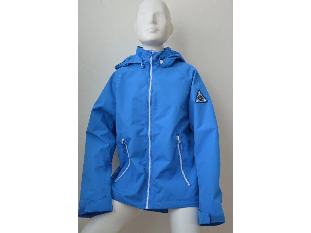 Dětská šusťáková bunda Kugo - modrá