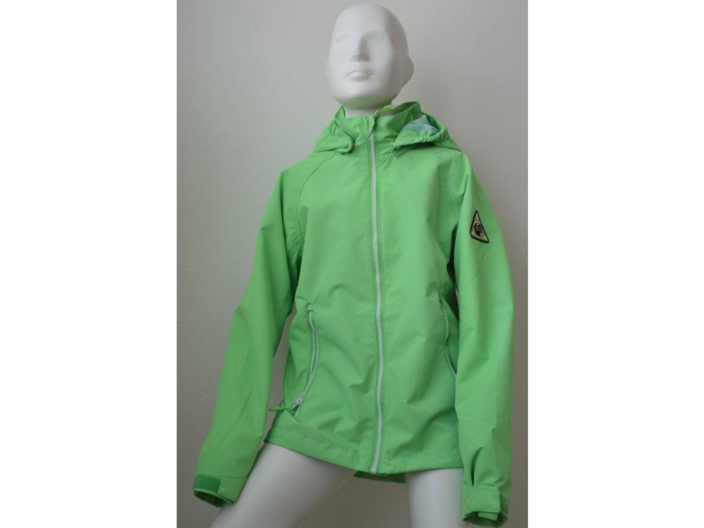 Dětská šusťáková bunda Kugo - světle zelená