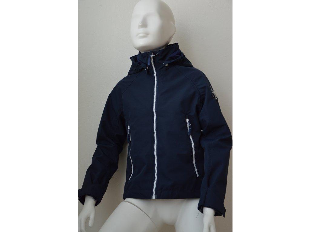 Dětská šusťáková bunda Kugo - tmavě modrá