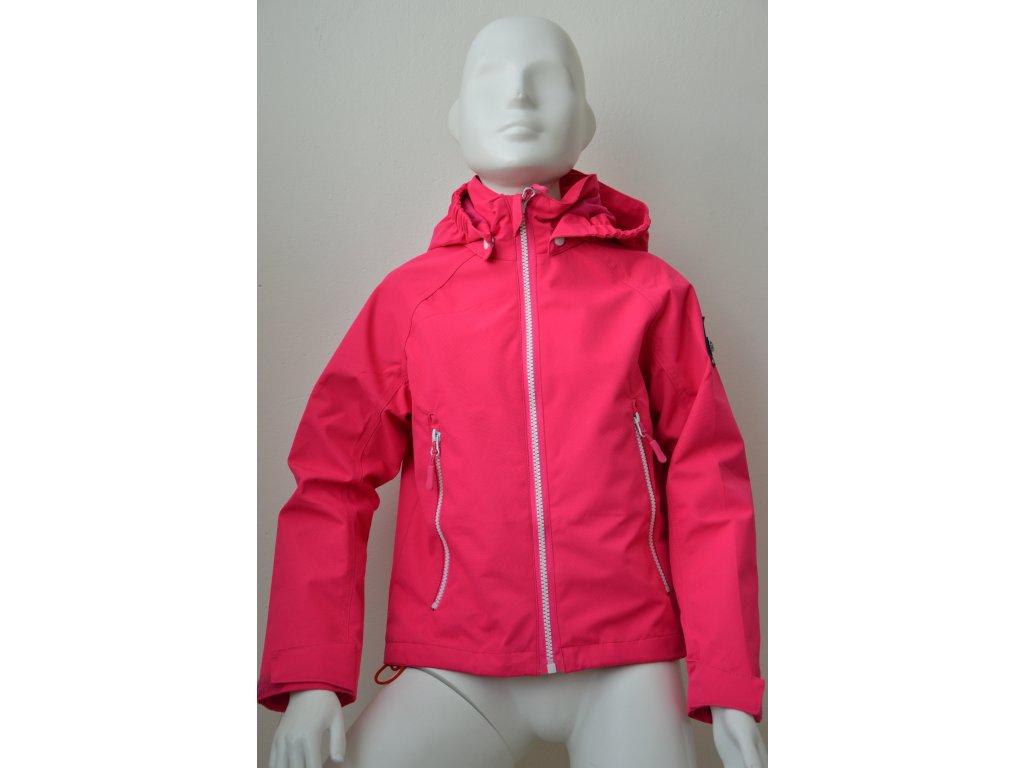Dětská šusťáková bunda Kugo - růžová