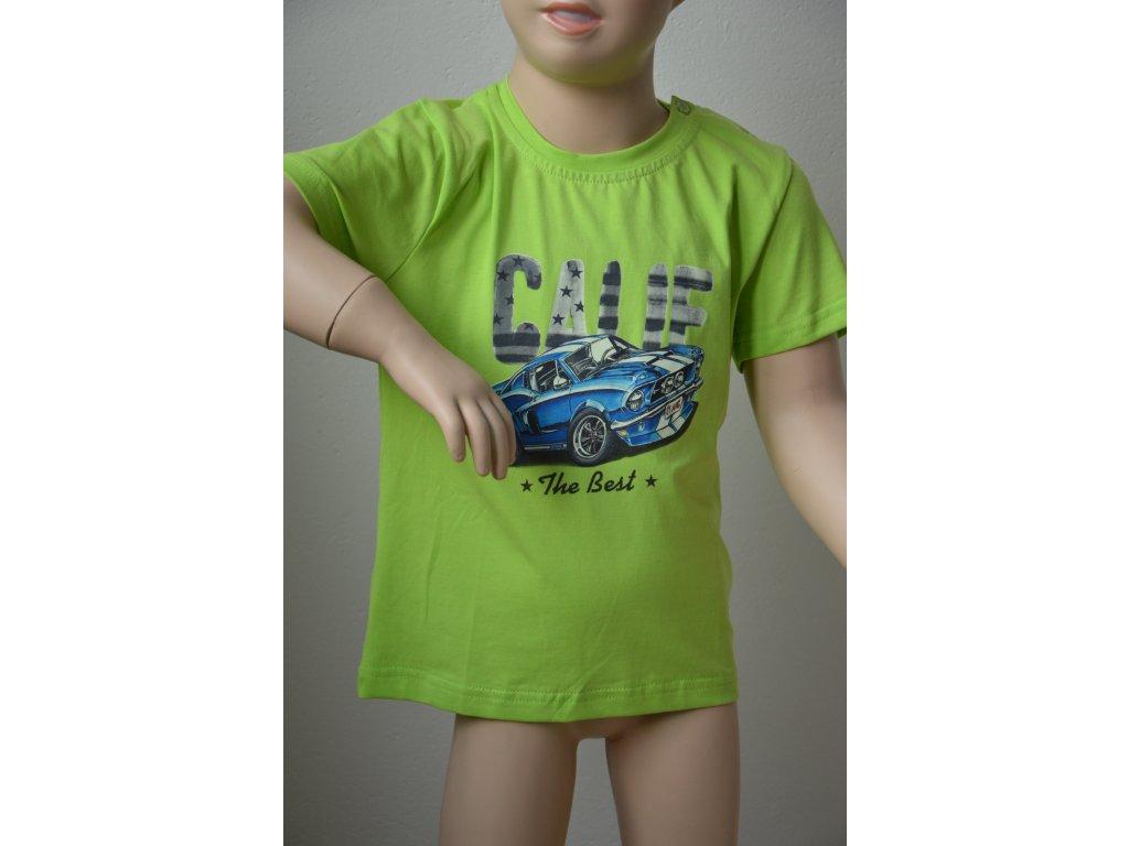 Chlapecké triko se sportovním autem zn. Kugo