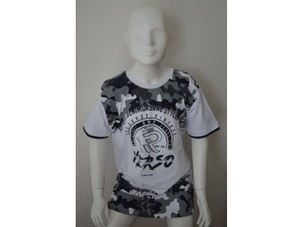 Chlapecké moderní maskáčové triko zn. Brooklyn