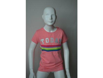 Dívčí triko Kugo s moderním nápisem