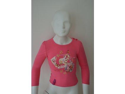 Dívčí triko Kugo s dlouhým rukávem