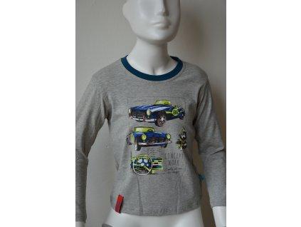 Chlapecké triko Kugo - šedé