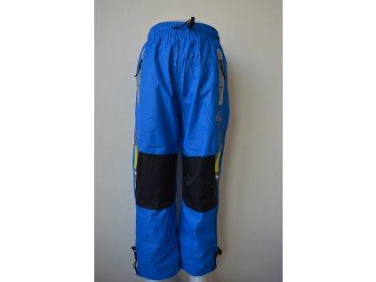 Chlapecké šusťákové kalhoty Kugo HK 9005 - modré