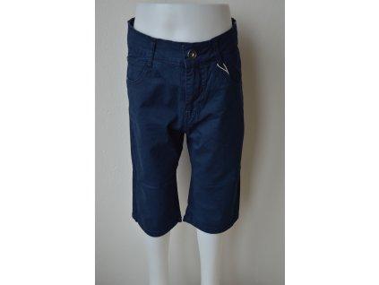 Chlapecké plátěné 3/4 kalhoty Kugo TK 840 - modré