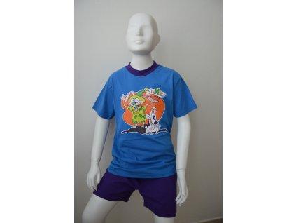 Chlapecké letní pyžamo zn. Coadin - modré