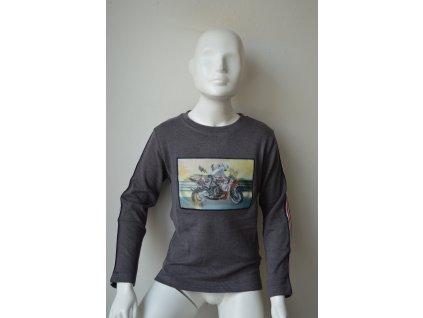 Chlapecký svetr Kugo S 3139 - šedý