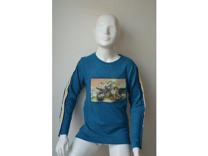 Chlapecký svetr Kugo S 3139 - modrý