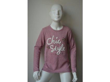 Dívčí svetr Kugo B 3083 - světle růžový