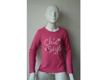 Dívčí svetr Kugo B 3083 - růžový
