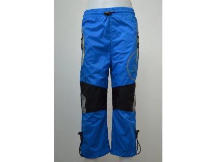 Chlapecké šusťákové kalhoty Kugo - modré