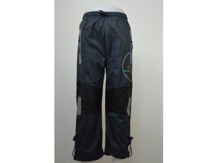 Chlapecké šusťákové kalhoty Kugo - šedé