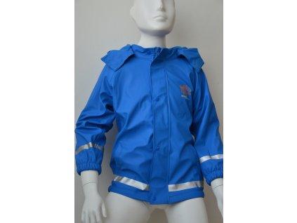 Chlapecká nepromokavá bunda Kugo - modrá