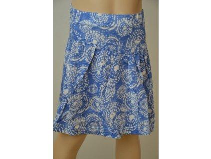 Letní sukně Wolf - modrá