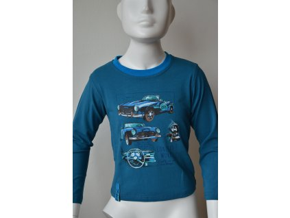 Chlapecké triko Kugo - petrolejové